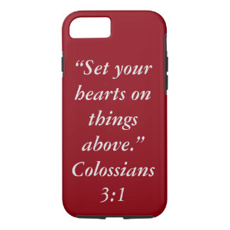 """""""Things Above"""" Iphone 7 Touch Cell Phone Case"""