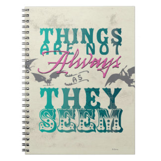 Things Are Not Always as They Seem Notebook