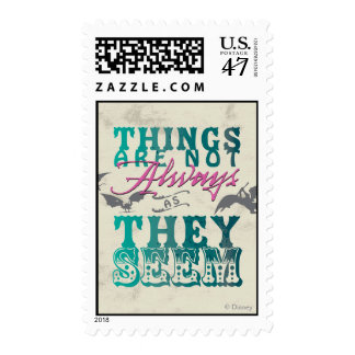 Things Are Not Always as They Seem Postage