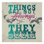 Things Are Not Always as They Seem Poster