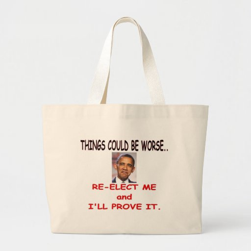 THINGS COULD BE WORSE CANVAS BAG