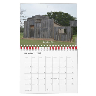 Things Forgotten 2017 Calendar