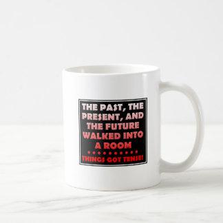 Things Got Tense Funny Mug