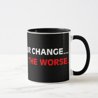 Things have changed for the worse mug
