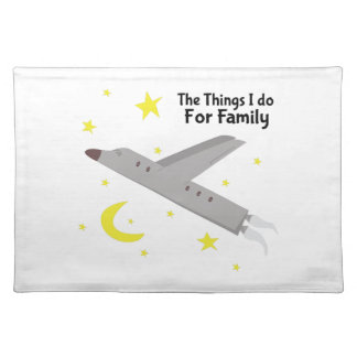 Things I Do Cloth Place Mat