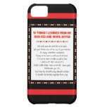 Things I Learned From Irish Red and White Setter iPhone 5C Cases