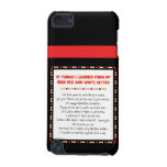 Things I Learned From Irish Red and White Setter iPod Touch 5G Covers