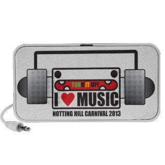 Things I love: I love Music : Nottinghill Carnival Portable Speakers