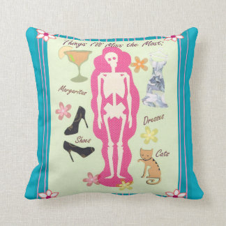 Things I Will Miss the Most Skeleton Pillow