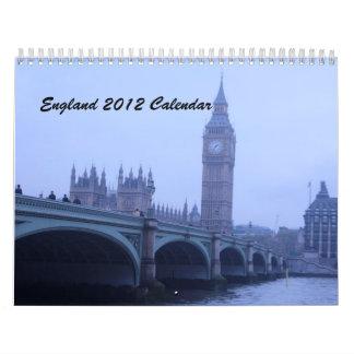 Things in England Calendar
