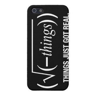 things just got real case for iPhone 5