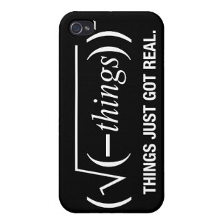 things just got real iPhone 4/4S cases