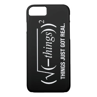 things just got real iPhone 8/7 case