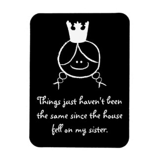 Things just haven't been the same... vinyl magnet