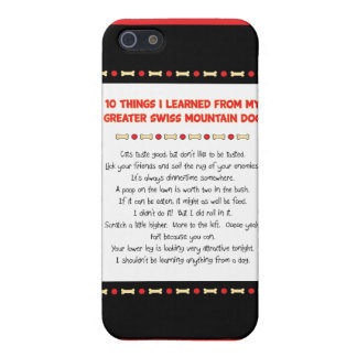 Things Learned From My Greater Swiss Mountain Dog Cases For iPhone 5