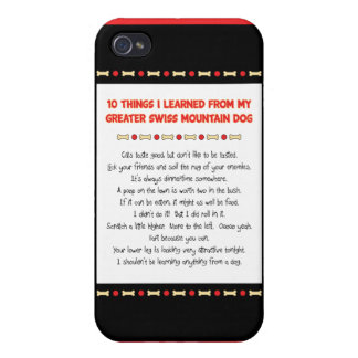 Things Learned From My Greater Swiss Mountain Dog Case For iPhone 4