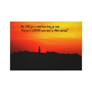 Things of a Spiritual nature Canvas Print