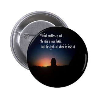 Things of a Spiritual nature Pinback Button