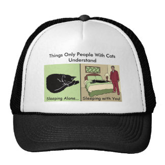 Things Only People With Cats Understand Trucker Hat
