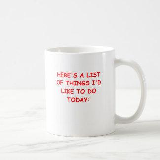 THINGS.png Classic White Coffee Mug