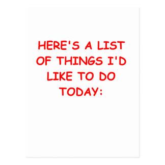 THINGS.png Tarjetas Postales