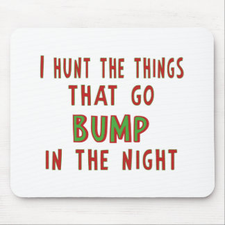 Things That Go Bump In the Night Mouse Pad