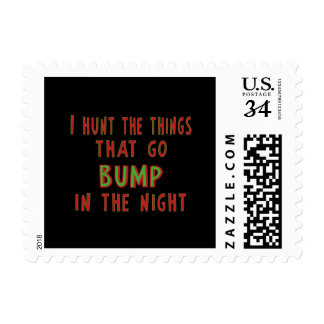 Things That Go Bump In the Night Postage Stamps