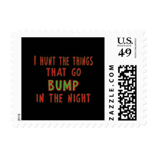 Things That Go Bump In the Night Postage