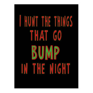 Things That Go Bump In the Night Postcard