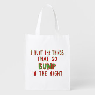 Things That Go Bump In the Night Reusable Grocery Bag