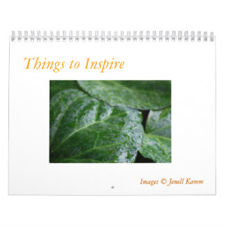 Things that Inspire Calendar