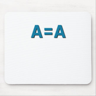 Things that tell it like it is. mouse pad