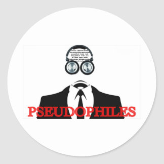 Things to do in Portland OR ... Pseudophiles Classic Round Sticker