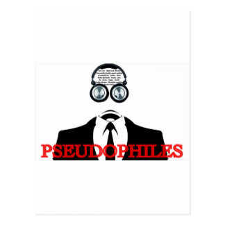 Things to do in Portland OR ... Pseudophiles Postcard