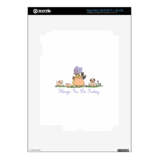 THINGS TO DO TODAY LIST iPad 3 DECAL