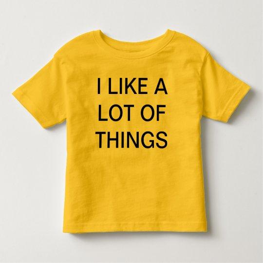 things toddler t-shirt