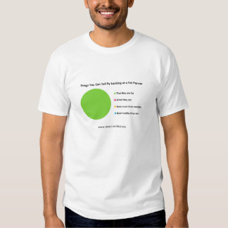 Things You Can tell By Looking at a Fat Person T Shirt