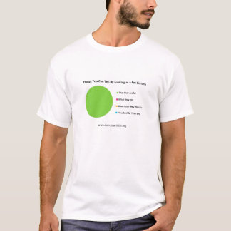 Things You Can tell By Looking at a Fat Person T-Shirt