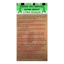 Things You Should Know about Lyme Disease Poster