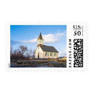Thingvellir National Park in Iceland Postage
