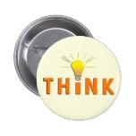 Think 2 Inch Round Button