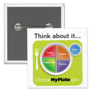Think about it Choose MyPlate Button