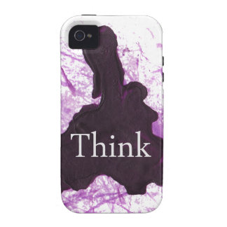 Think Abstract Case-Mate iPhone 4 Cover