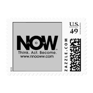 Think. Act. Become. Postage Stamps