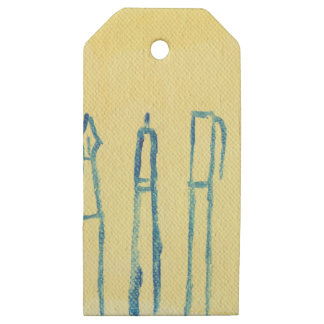 think ahead wooden gift tags