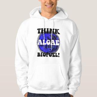 Think algae biofuel hoodie