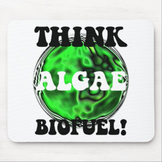 Think algae biofuel! mouse mat