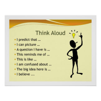 Think Aloud Print