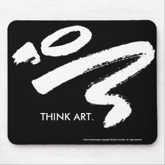 Think Art Mousepad