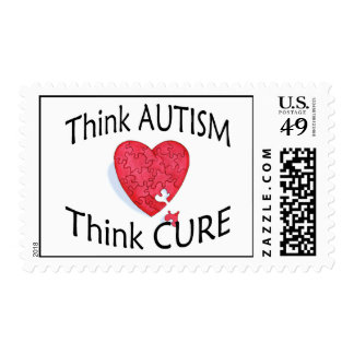 Think Autism, Think Cure Stamp